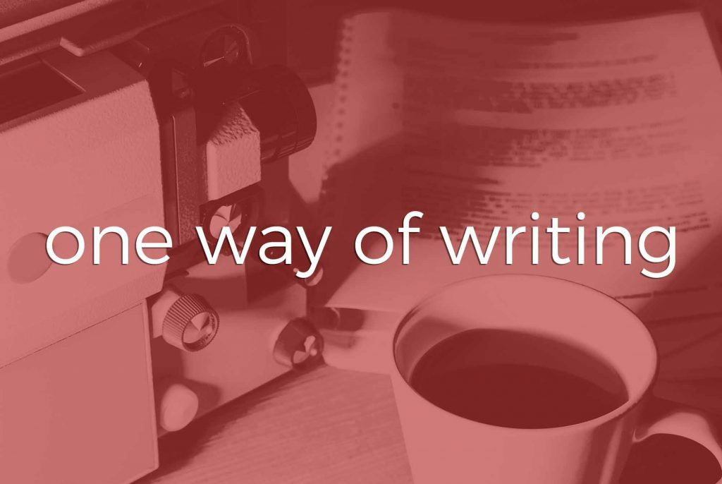 Scripting | Tampa Bay | One Way of Writing
