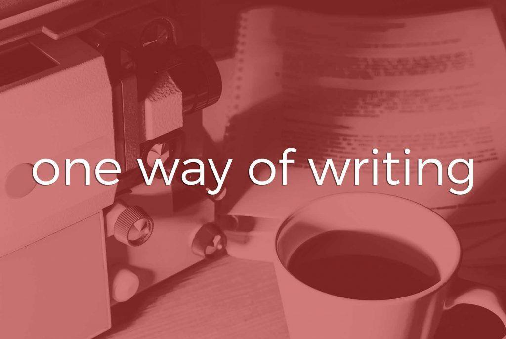 Scripting | Tampa Bay | One Way of Writing