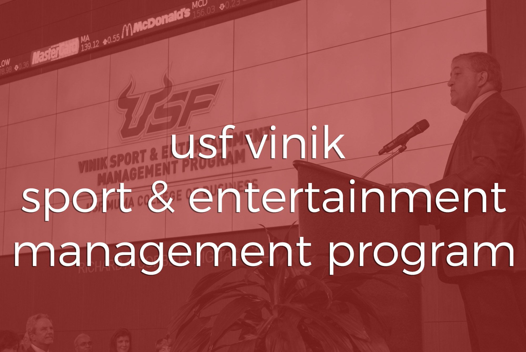 Animations | USF Vinik Sport & Entertainment Management | Two Stories Media
