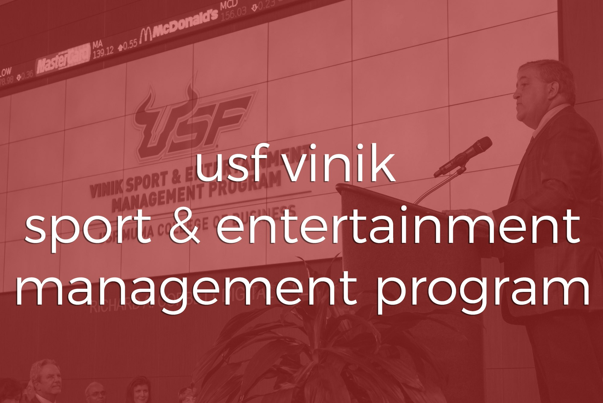 Animations | USF Vinik Sport & Entertainment Management | Two Stories Media