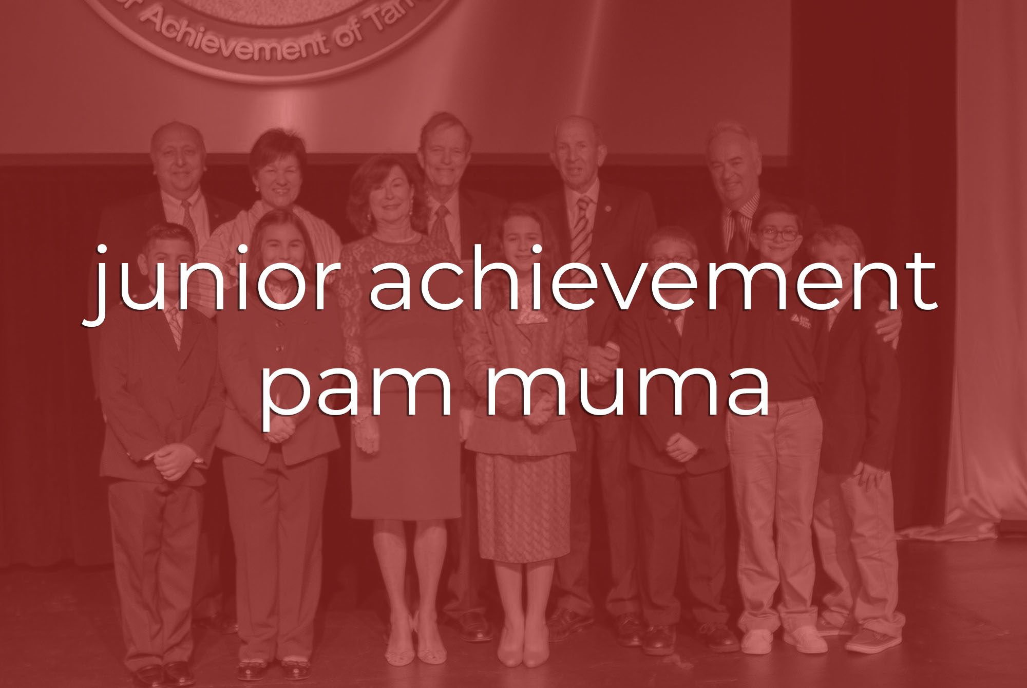 Commercial Videography | Tampa | Junior Achievement Pam Muma Thank You Recognition