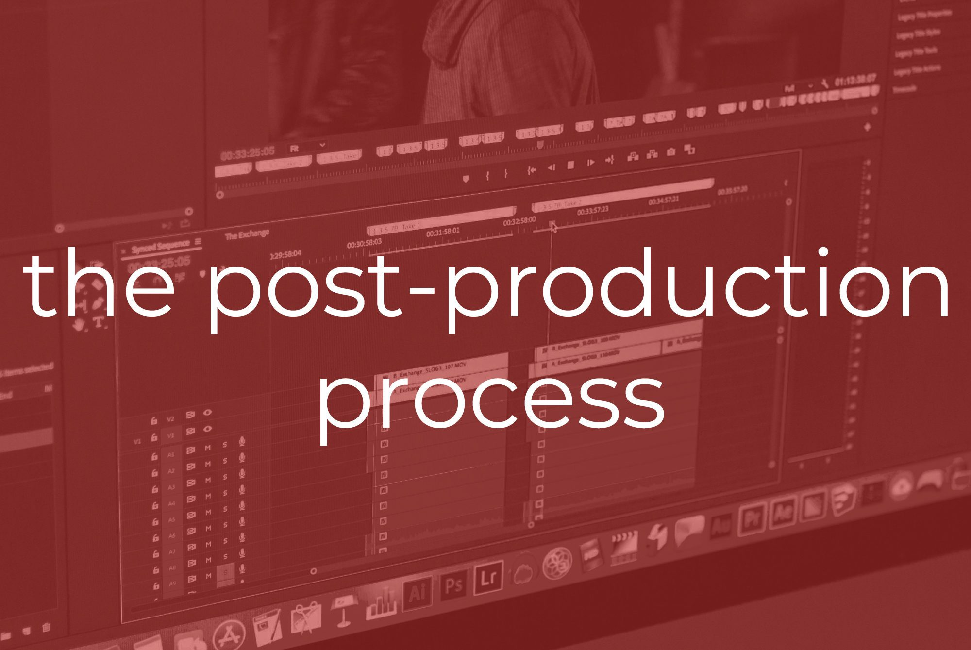 Working With Us | The Post Production Process | Two Stories Media
