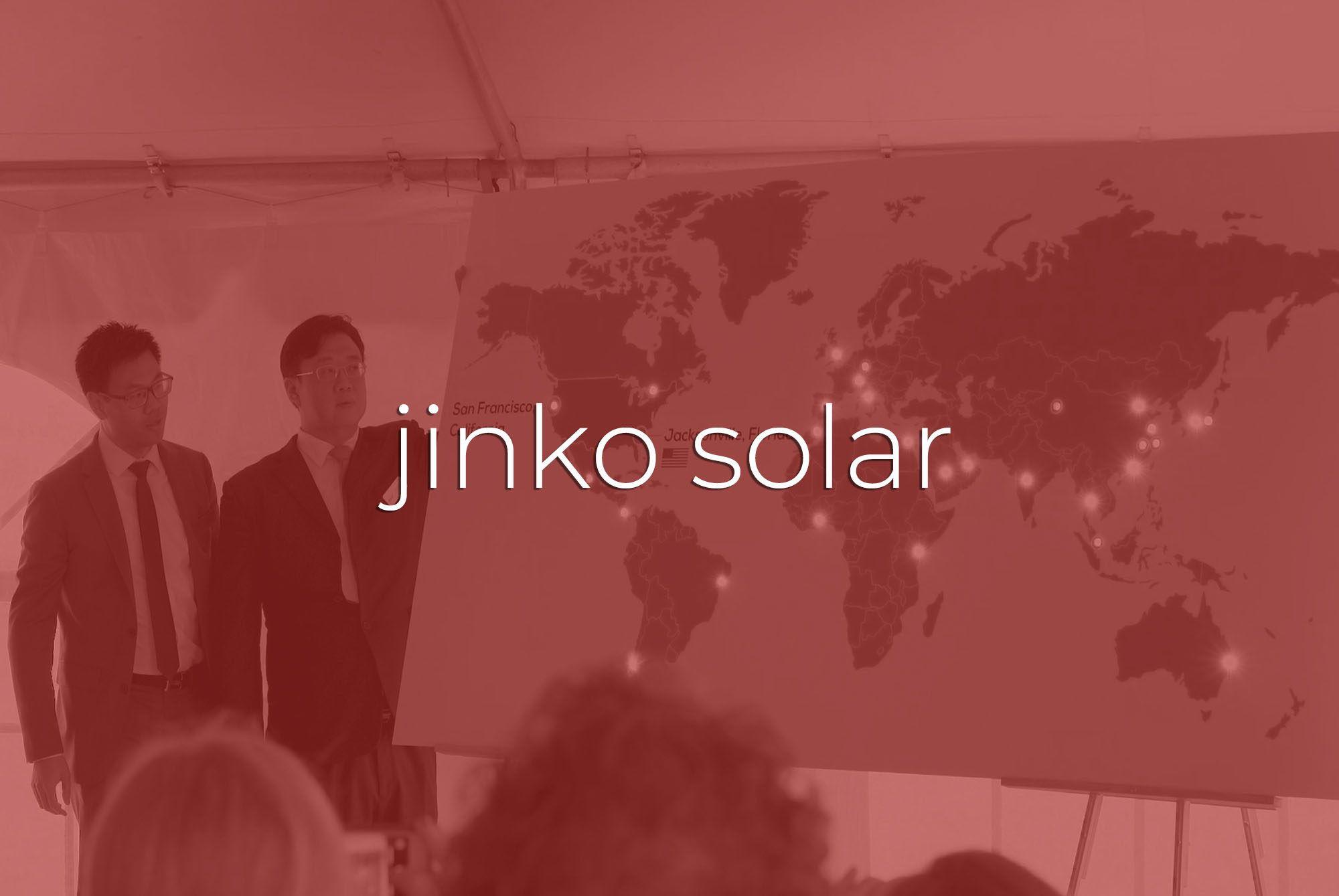 Commercial Videography   Jacksonville  JinKO Solar