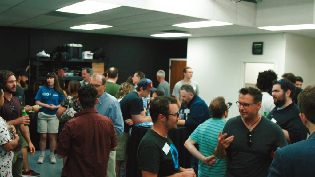 The Film Florida meet up was a great success with over 50 attendees!